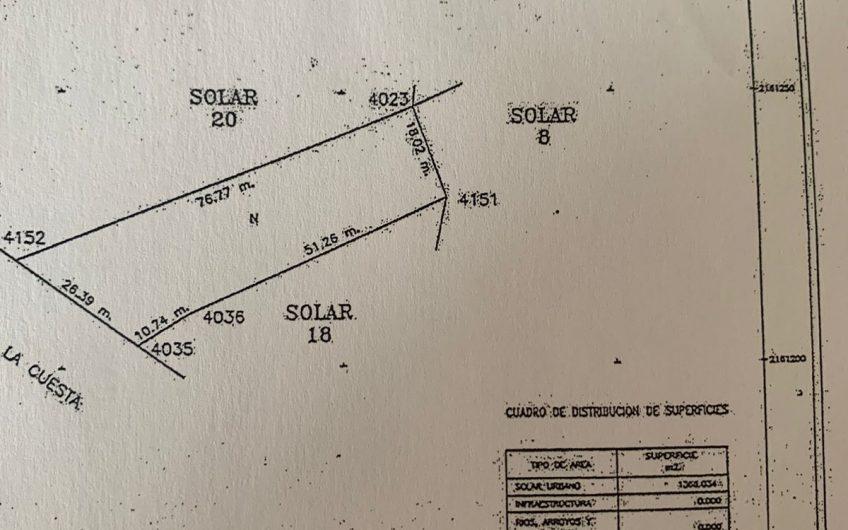 Terreno Escriturado Habitacional Comercial HD4